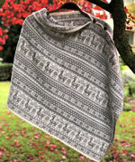 Load image into Gallery viewer, Alpaca Fair Isle Multiway Poncho by Samantha Holmes