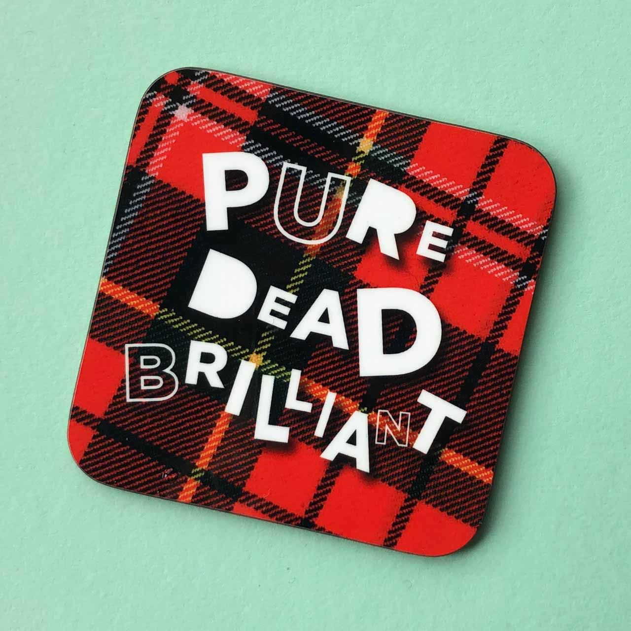 Scottish Banter Coasters by Hiyapal