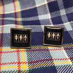 Load image into Gallery viewer, Brave Scottish Gifts Cufflinks
