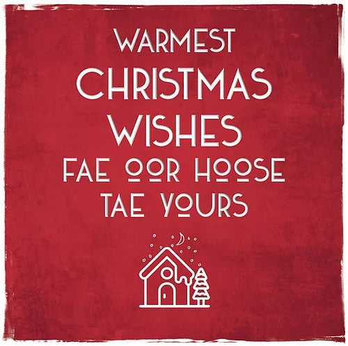 Scottish Christmas Cards by Truly Scotland