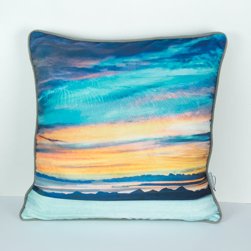 Cath Waters Cushion Cover - Western Isles from Skye