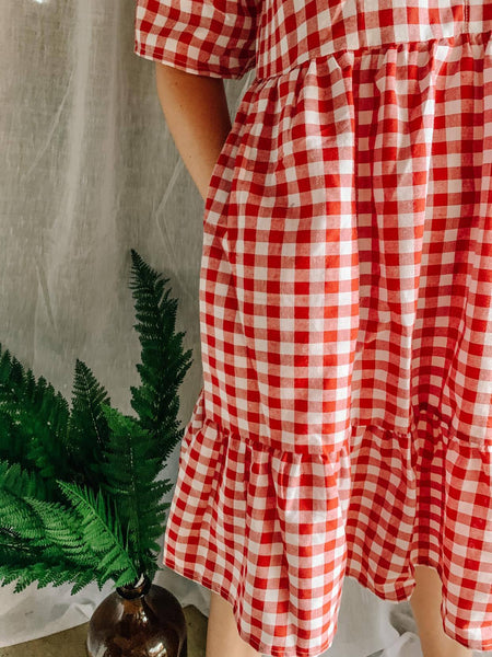 Noelle Gingham Dress