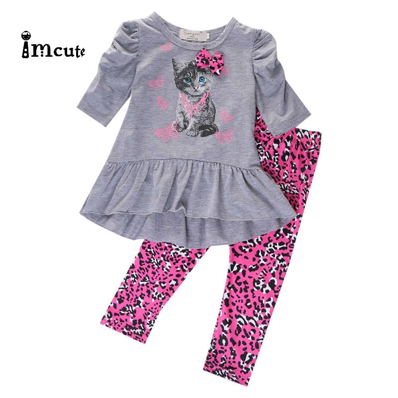 2019 New Hot Sale Toddler Kids Baby Girls Outfits Clothes T-shirt Top Long Pants Trousers 2PCS Set - Buy Babby
