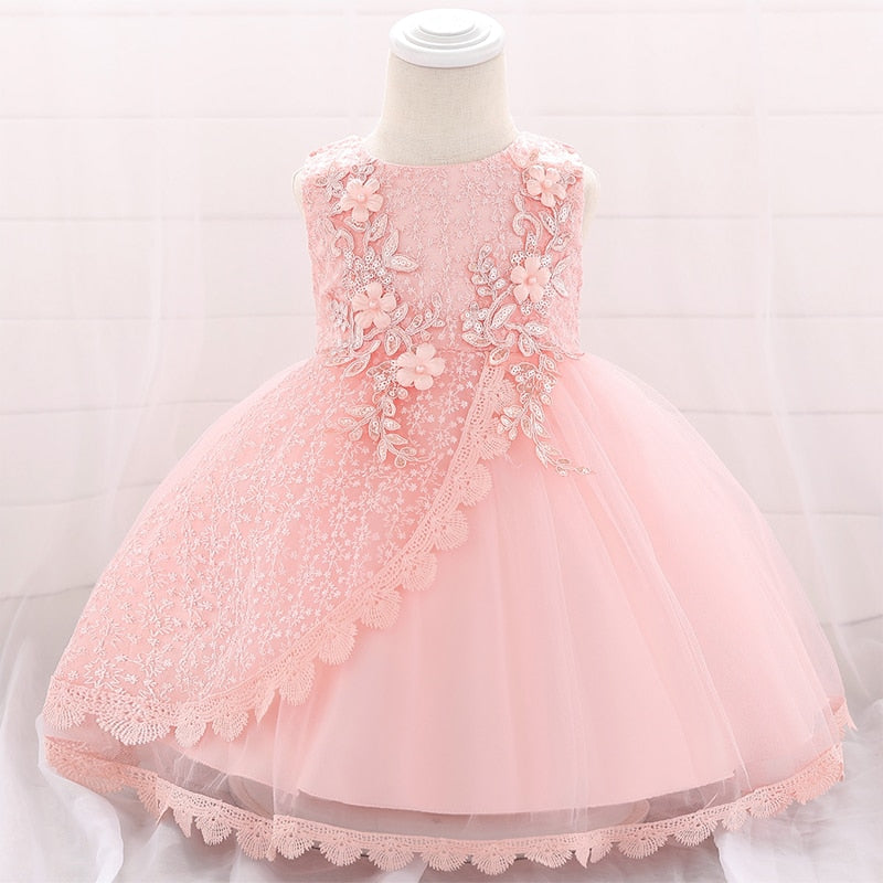 Newborn Clothes Christening Dress For Baby Girl Party And Wedding Sequin Dresses - Buy Babby