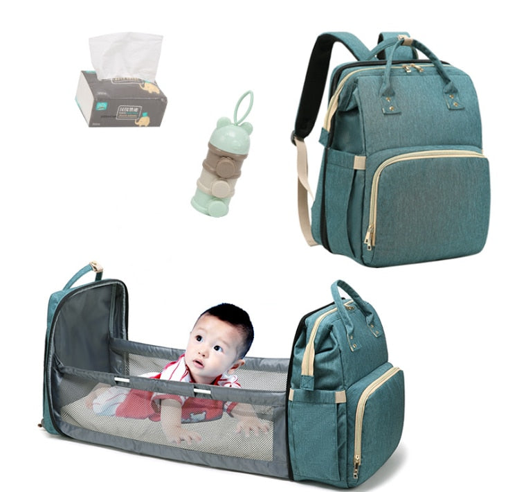 Mummy Bag Deluxe - Multi-Functional Baby Portable Bag - Buy Babby