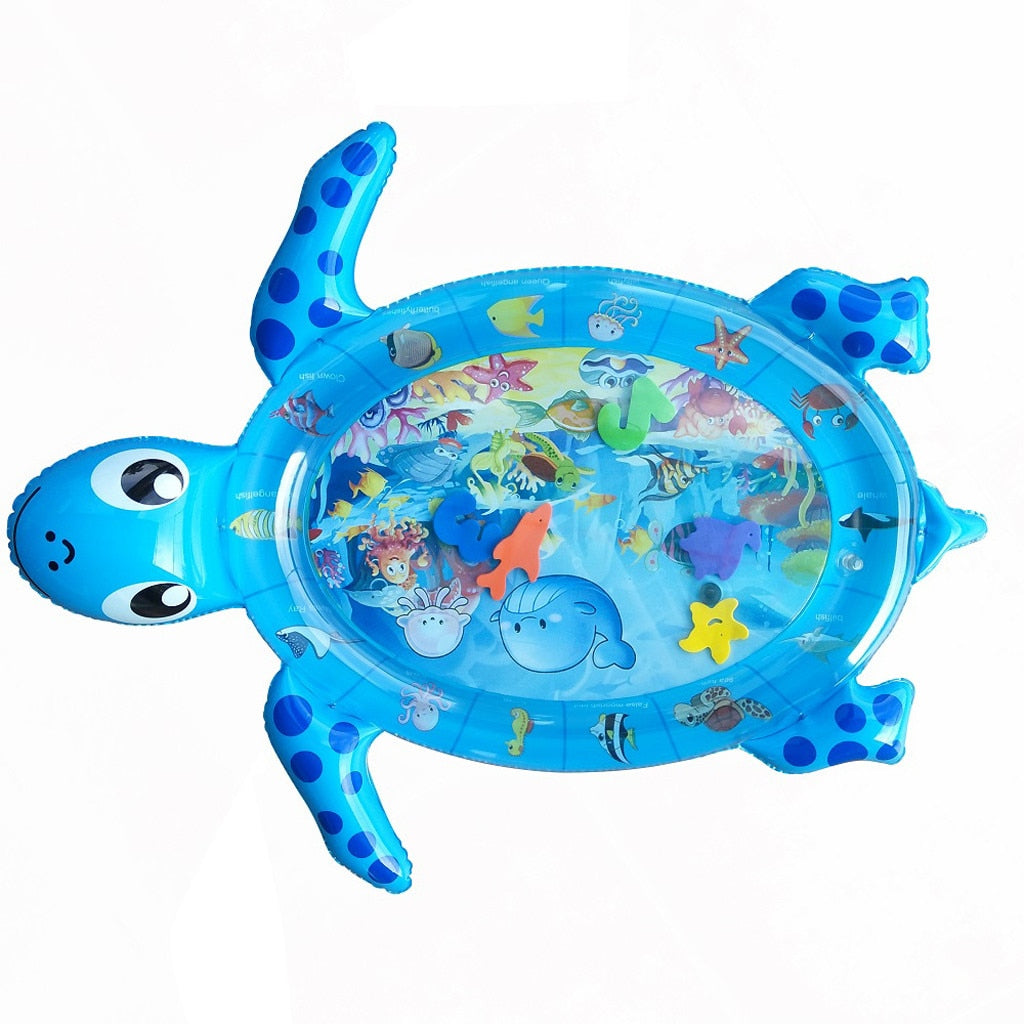 Tummy Time Water Mat Sea World Turtle Shape Infants Water Mat Newborn Boy Girl Play Mat Toy - Buy Babby