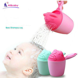 Baby Bath Waterfall Rinser Kids Shampoo Rinse Cup Bath Shower Washing Head - Buy Babby