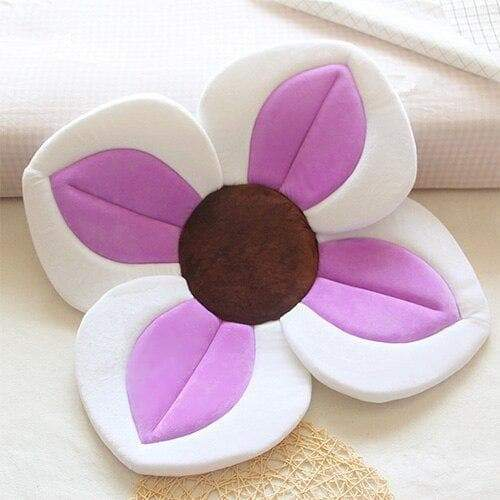Baby Blooming Flower Bath Tub Petal Lotus Pad Baby Bath Lotus Cushion Newborn Blooming Sink Bath For Baby Folding Non-slip Baby Mat - Buy Babby