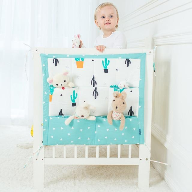 Baby Cot Bed Hanging Storage Bag ,Diaper Pocket Crib Organizer Toy For Crib Bedding Set - Buy Babby