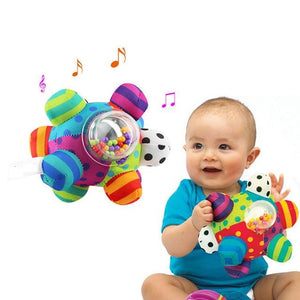 Baby Fun Cloth Ball Rattles Toy Grasping HandBell - Buy Babby
