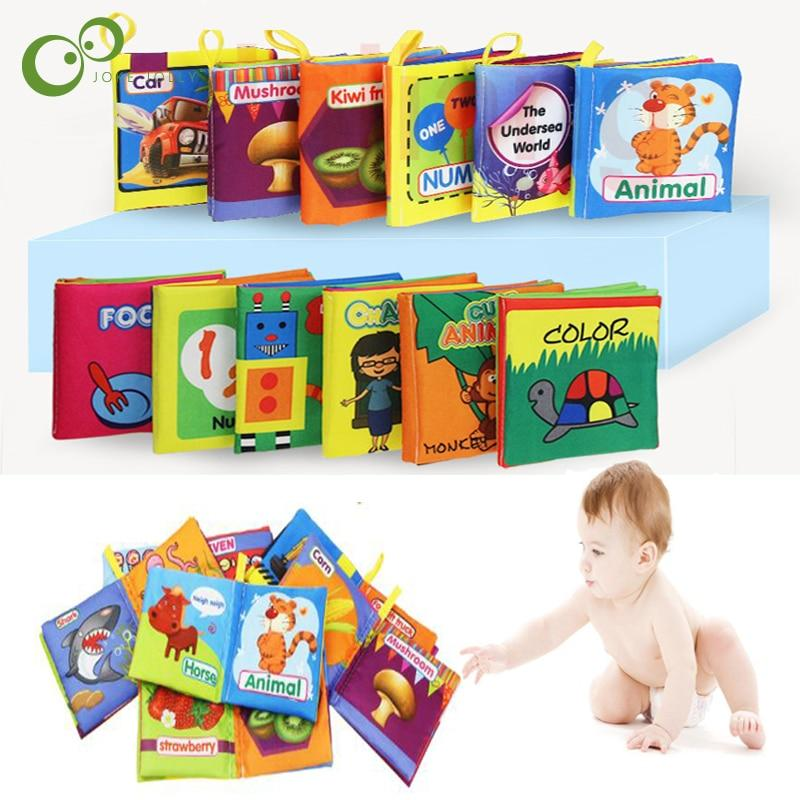 Baby Rattles Mobiles Toy Soft Animal Tails Cloth Book Newborn Stroller Hanging Toy Baby Early Learning Educational Toys - Buy Babby
