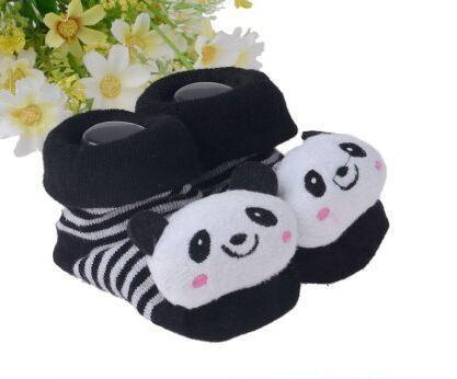 Baby Socks Newborn Infant Baby Girls Boys Cute Cartoon Animal Toddler Anti-Slip Short Socks Slipper Shoes Boots Socks Fun time Play Activity Indoor Slippers - Buy Babby