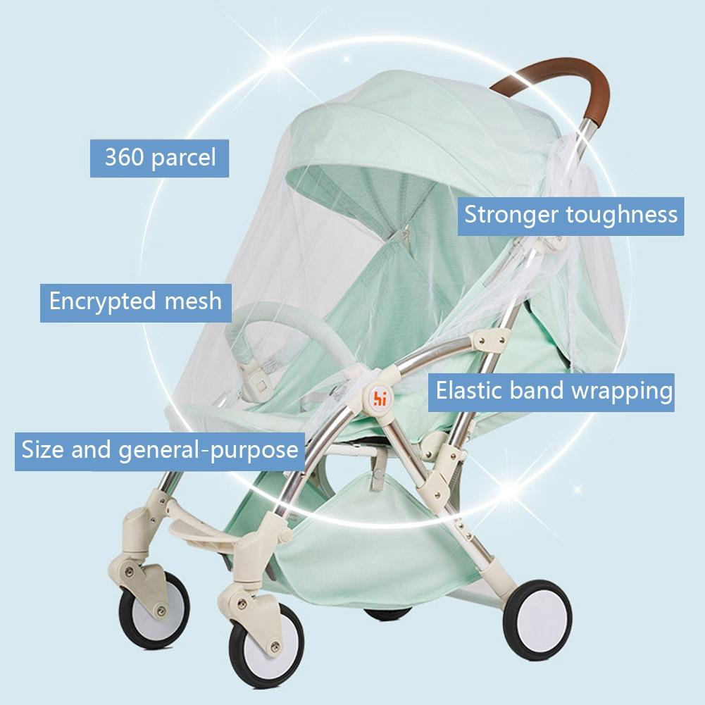 Baby Stroller Pushchair Pram Mosquito Fly Insect Net Mesh Buggy Protector Cover for Baby Infant - Buy Babby