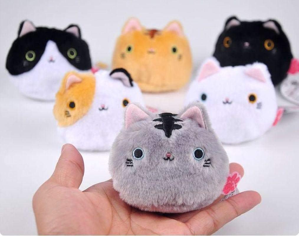Cute Cartoon Stuffed Cat Doll Big Face Cat Plush Doll Birthday Present toy - Buy Babby