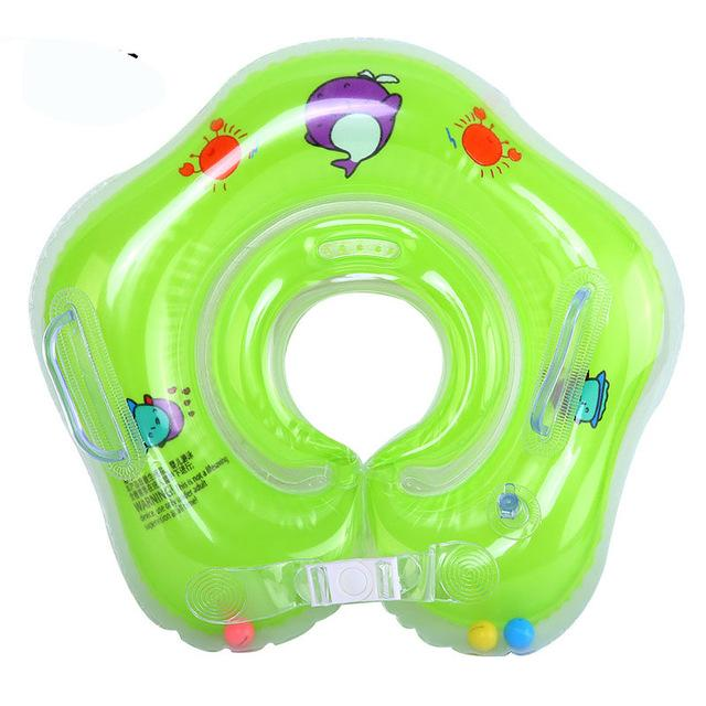 Inflatable Circle Newborn Neck Float Infant Baby Swimming Swim Ring float Safety - Buy Babby