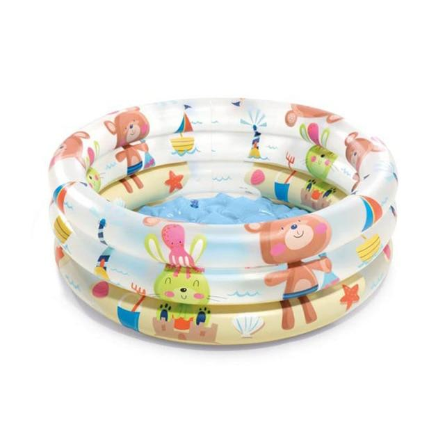 Inflatable Sunset Glow Outdoor Baby Swimming Pool - Buy Babby
