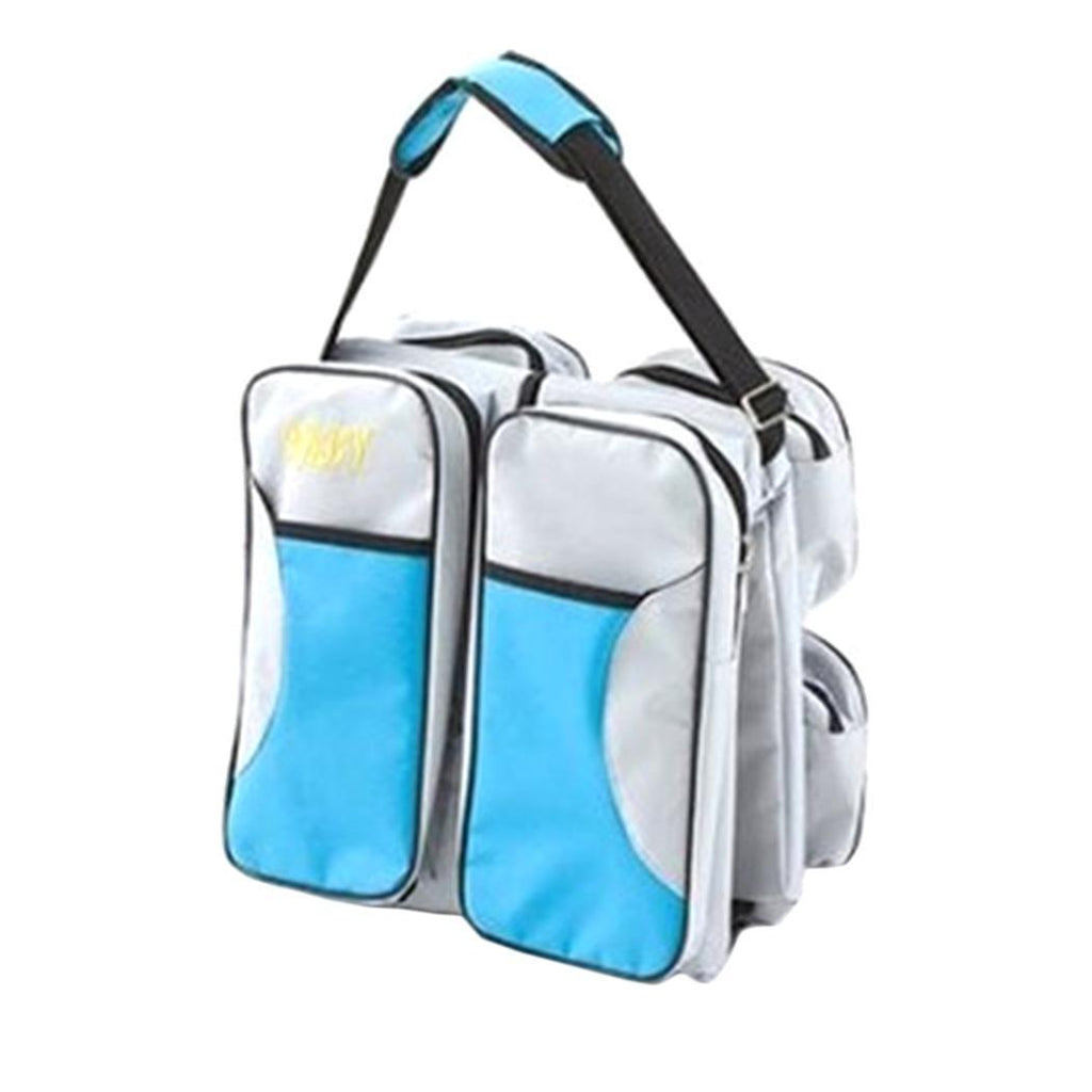 Baby Diaper Travel Bag Changing Station Portable Infant Nursery Crib Folding Bed - Buy Babby