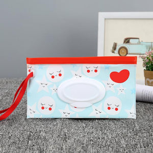Portable Clutch Wipes Carrying Case Eco-Friendly Bag - Buy Babby