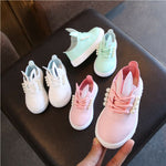 Toddler Baby Girls Casual Leather Sneakers Shoes Cartoon Bunny Ear - Buy Babby