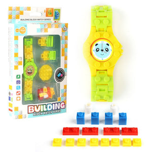 Digital Watch Building Blocks Baseplate Educational Bricks - Buy Babby