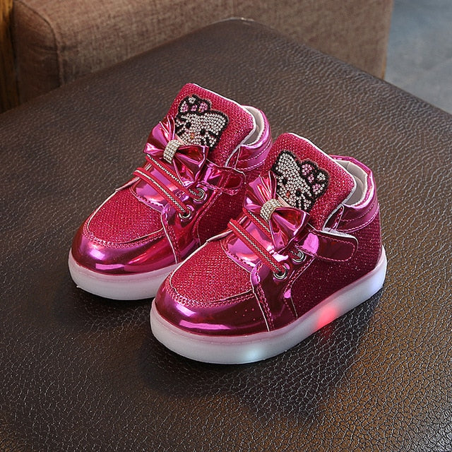 Children Glowing Sneakers Kids Shoes - Buy Babby