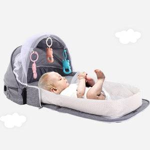 Portable Baby Bed Foldable Multifunction Baby Cribs - Buy Babby