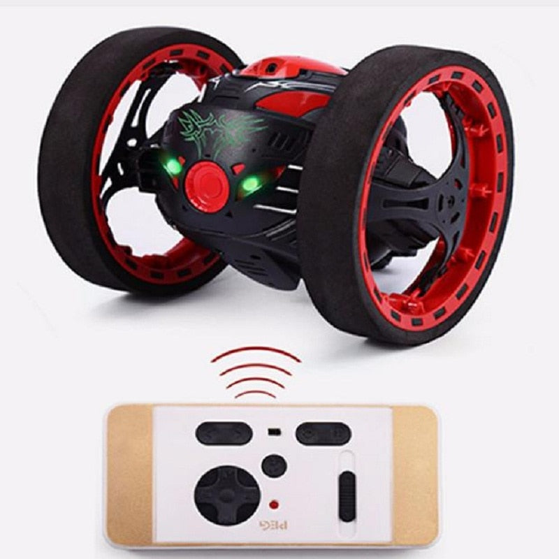 Mini Cars Bounce Car PEG SJ88 2.4GHz RC Car with Flexible Wheels Rotation LED Light - Buy Babby