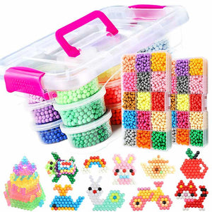 Water Mist Sticky Beads Toys DIY Handmade Boys and Girls Magic Water Soluble Beans - Buy Babby