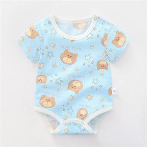 Summer Unisex Baby Clothes Newborn Bodysuit Yellow Duck - Buy Babby