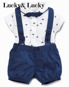 Newborn Polka Dots baby clothes cotton rompers baby boy clothes short sleeve baby clothes - Buy Babby