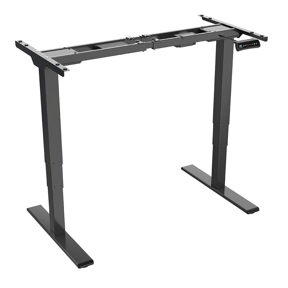 ACGAM Electric Standing Desk Frame - Ergonomic Height Adjustable - Dual Motor - Frame Only