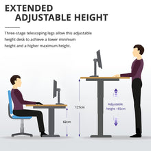 Load image into Gallery viewer, ACGAM Electric Standing Desk Frame - Ergonomic Height Adjustable - Dual Motor - Frame Only