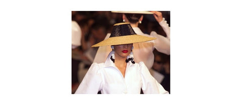 Yves Saint Laurent y sombrero Flama