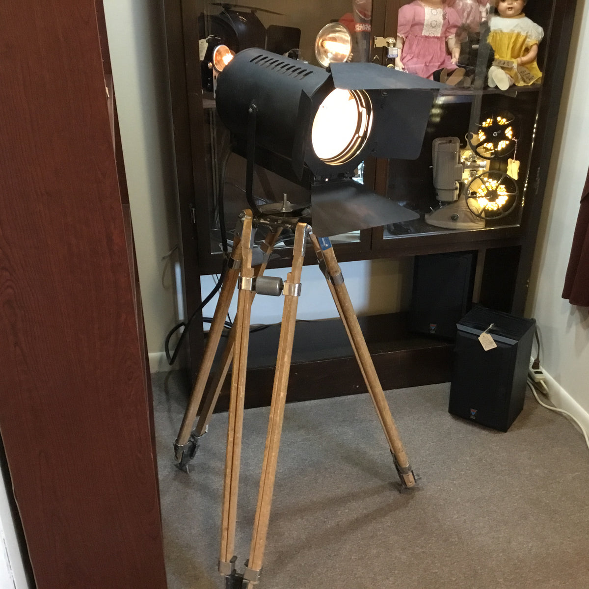Hollywood Style Lamp on Tripod