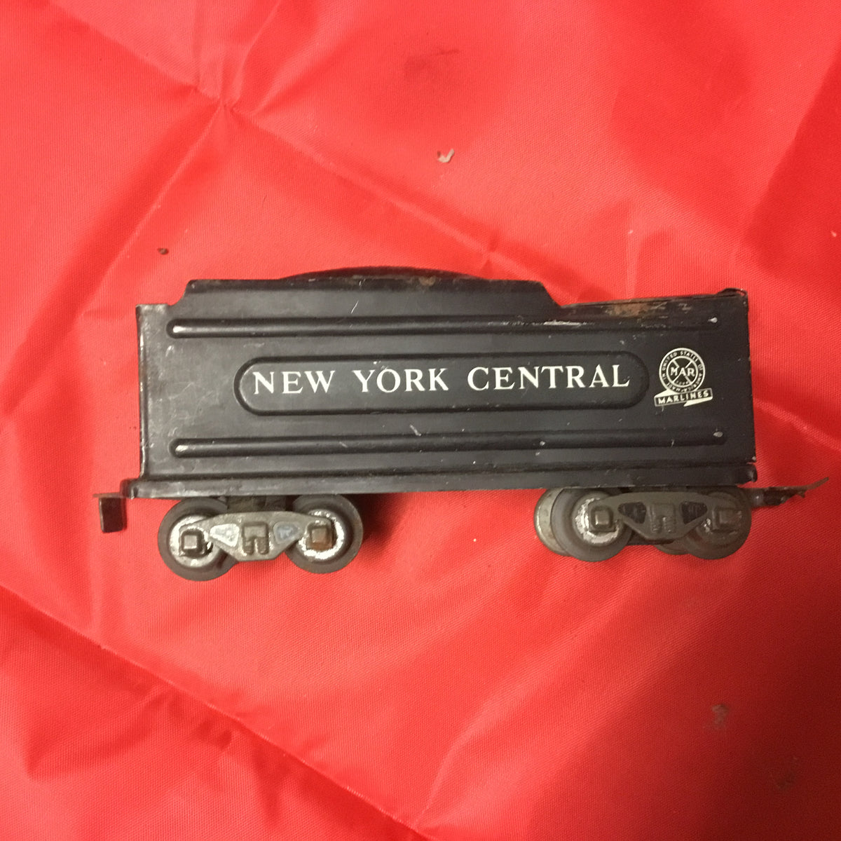 "Vintage Marx Marlines O Scale ""New York Centrail"" Coal Tender"