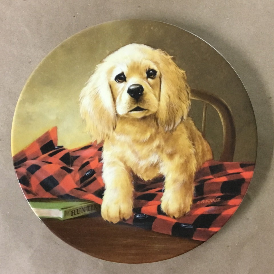 "Knowles Field Puppies Collection, 6th Issue titled ""Shirt Tales - The Cocker Spaniel"""