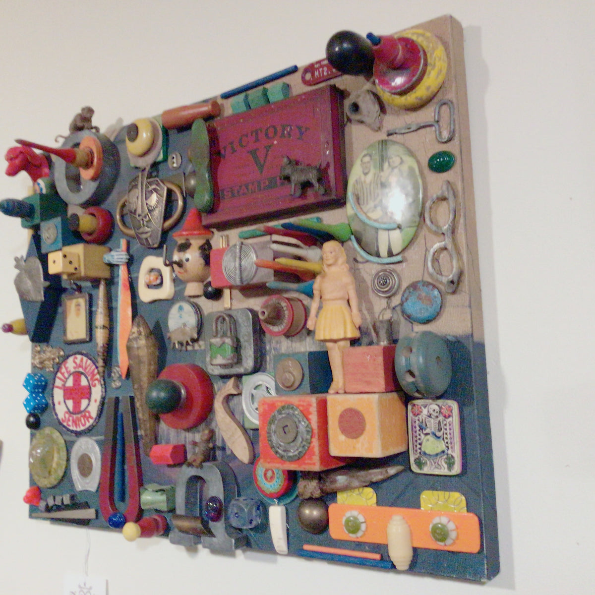 Assemblage Art - Where's My Glasses