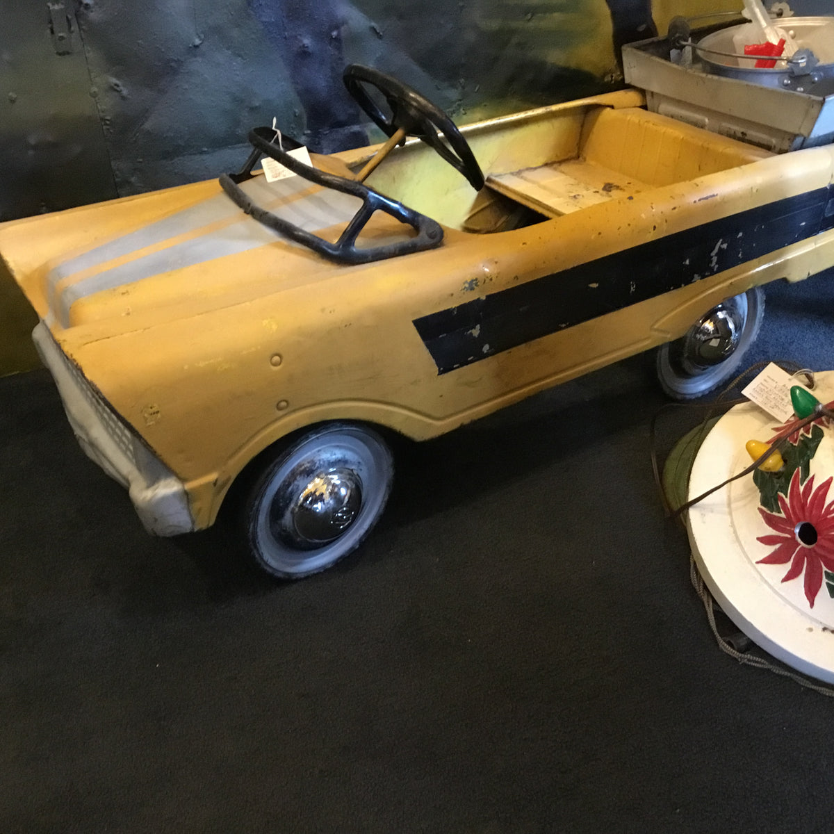 Vintage 1950's/1960's Murray Pedal Car Dump Truck Earth Mover