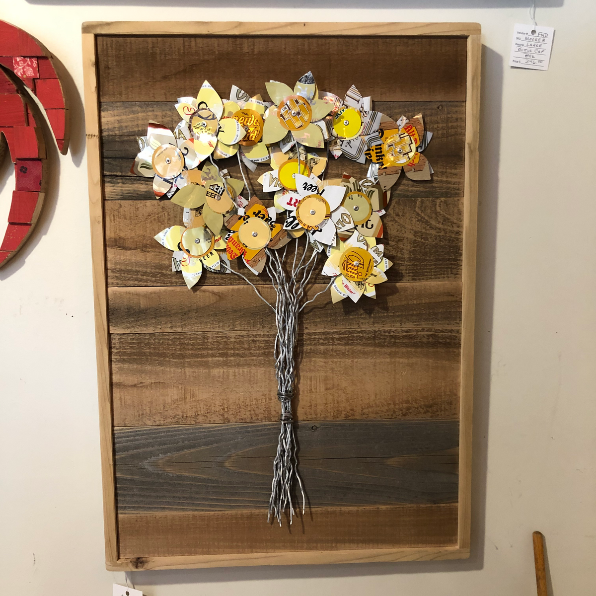 Large Moore Family Folk Art Bouquet
