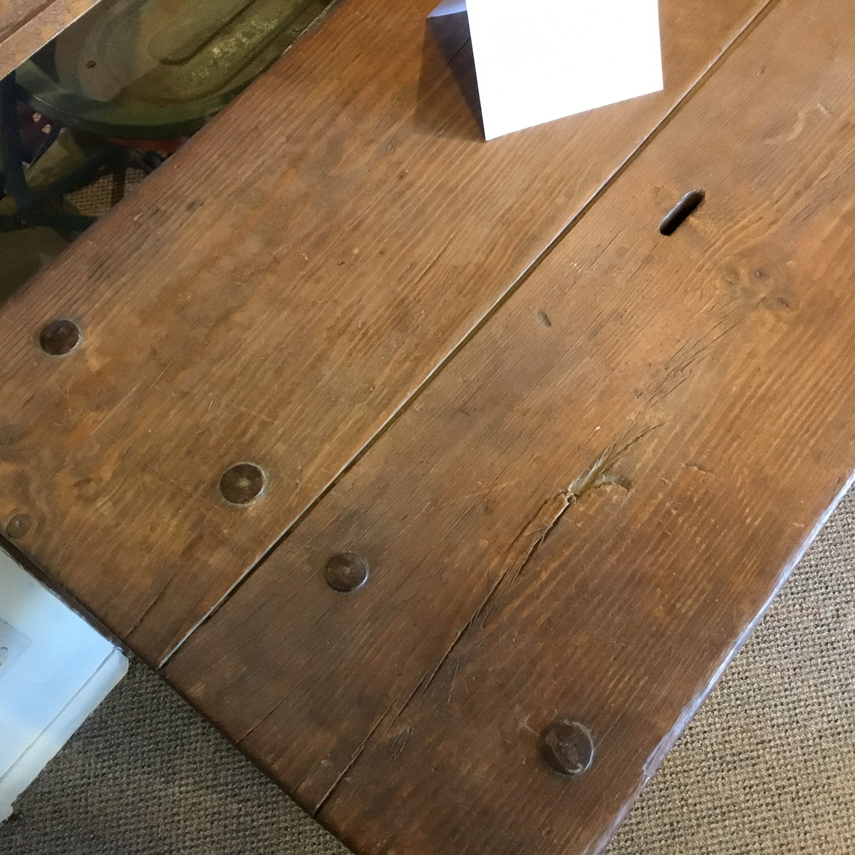 Spanish Colonial Alms or Rent Table (Circa 1720-1820)