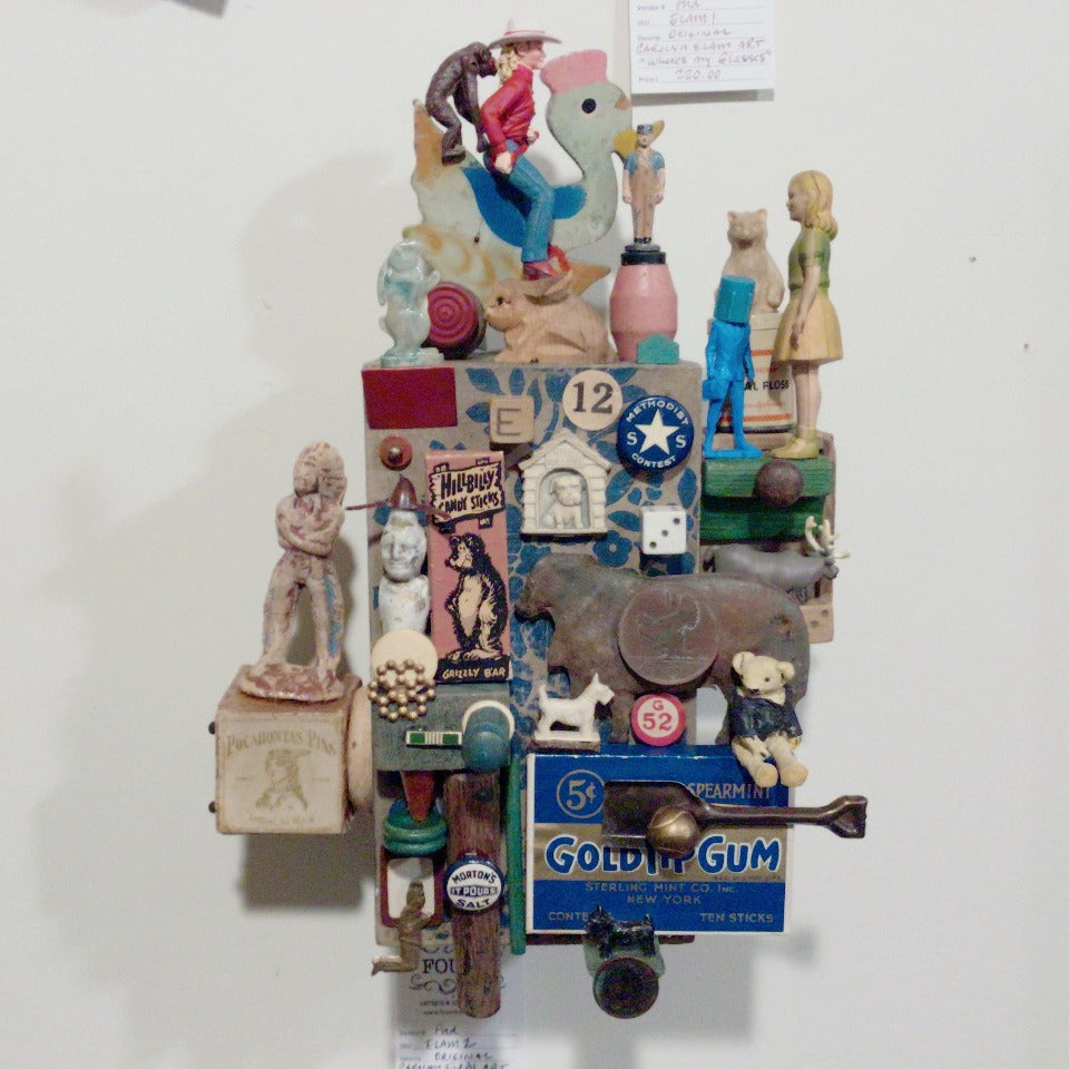 Assemblage Art - Bare Back