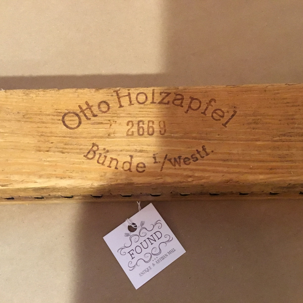 Antique German Otto Holzapfel Cigar Press