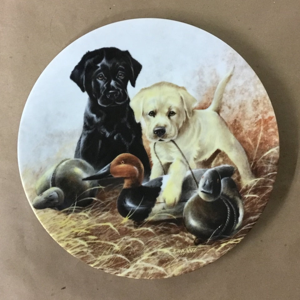 "Knowles Field Puppies Collection, 4th Issue titled ""A Perfect Set - Labrador Retrievers"""
