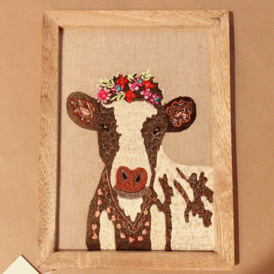 Embroided Wall Art