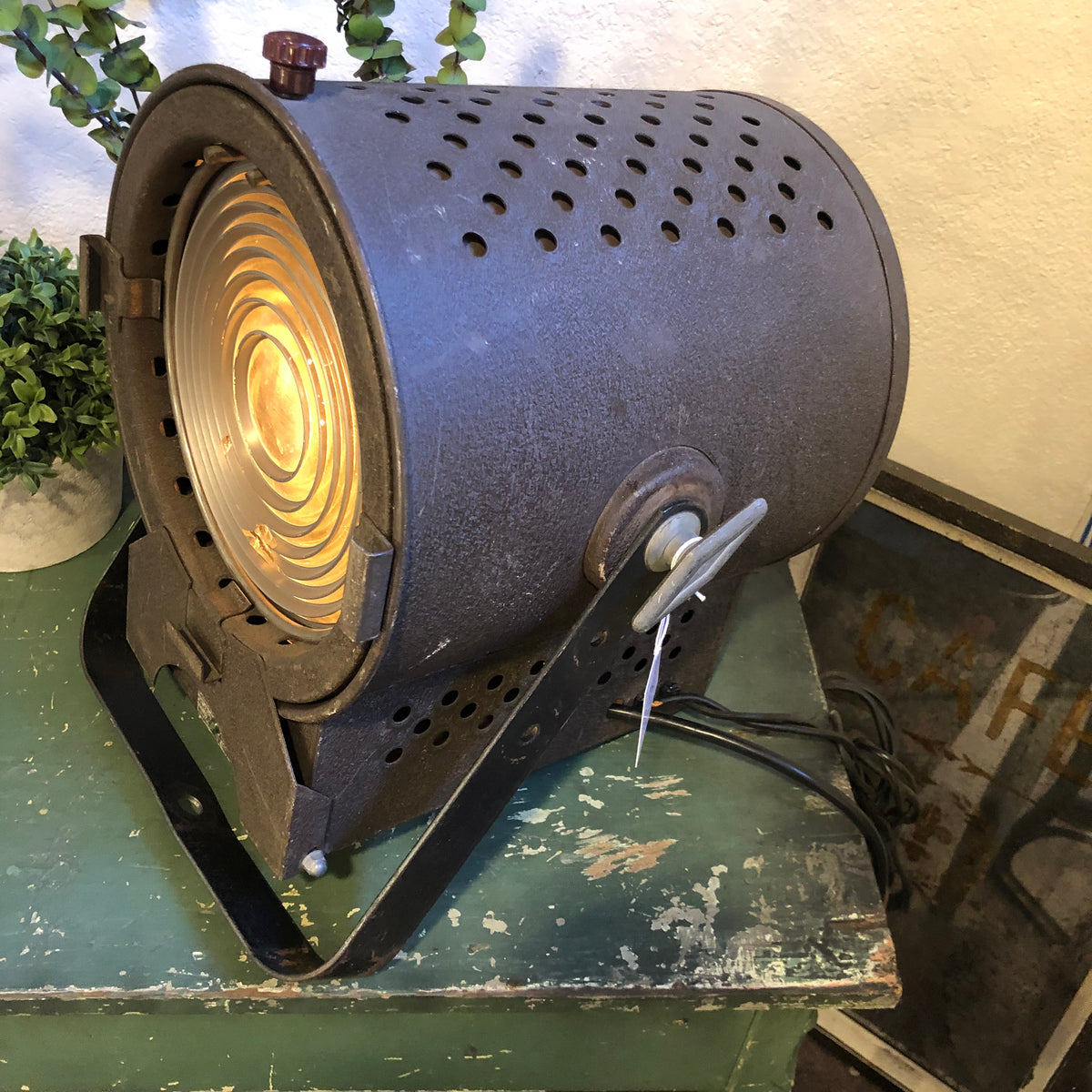 Vintage Theater Light Industrial