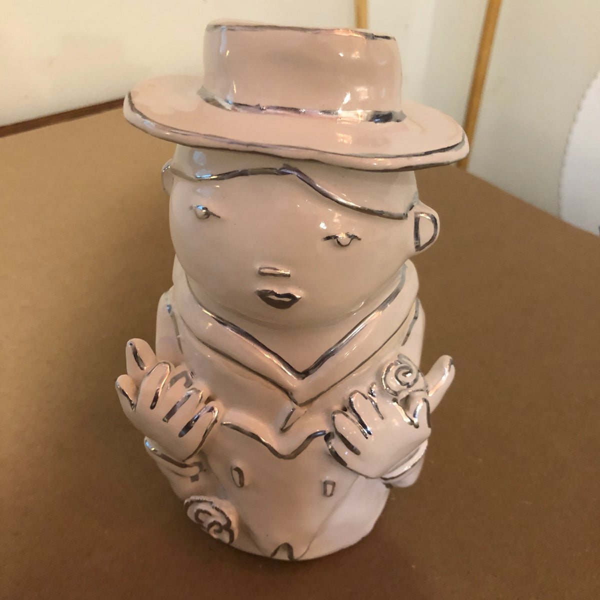 Hand sculpted and hand painted Wish Jars by Hazy May