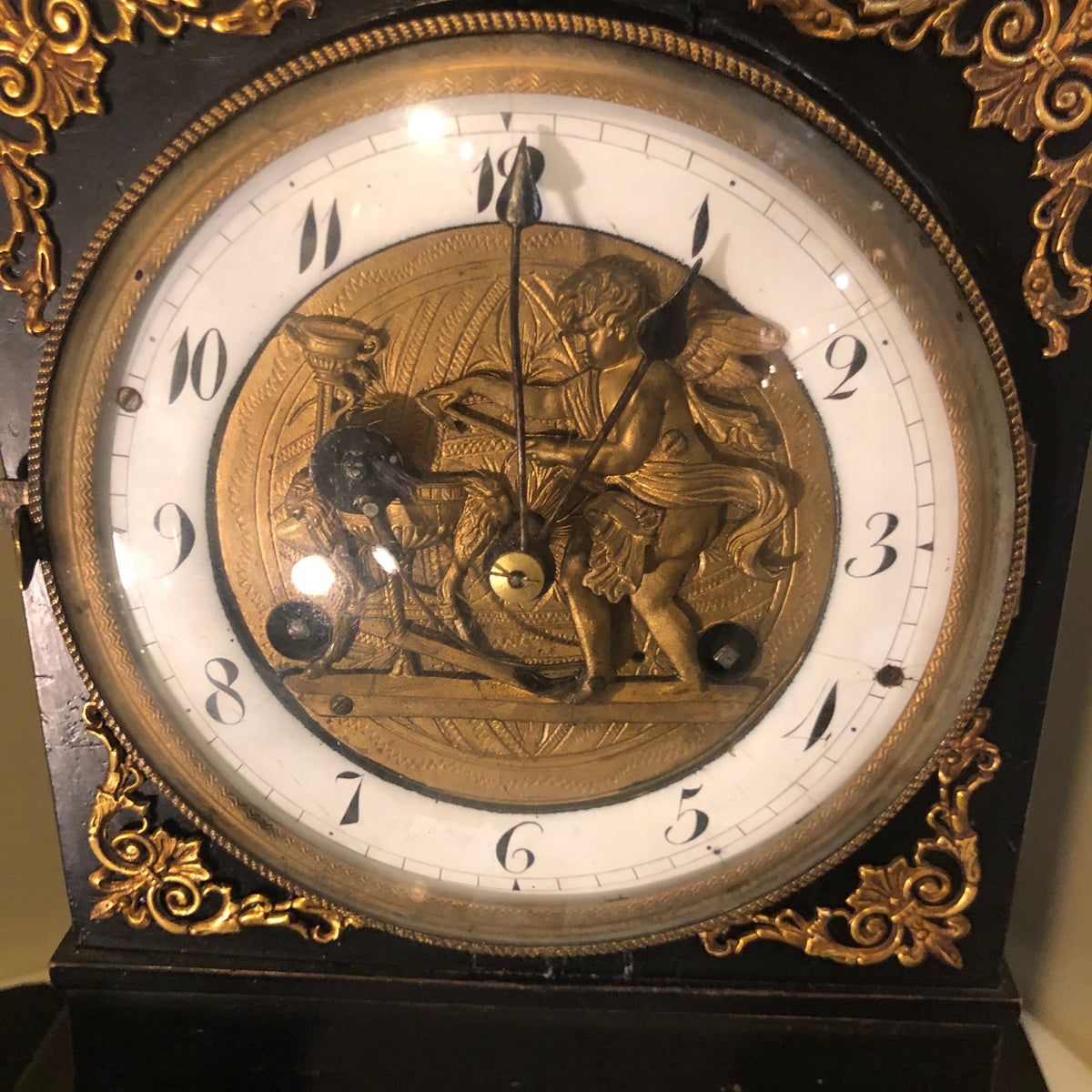 Antique Australian Cupid Clock