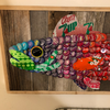 Moore Family Medium Bottle Cap Fish