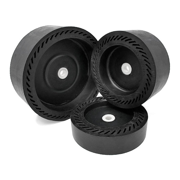 expandable rubber drums