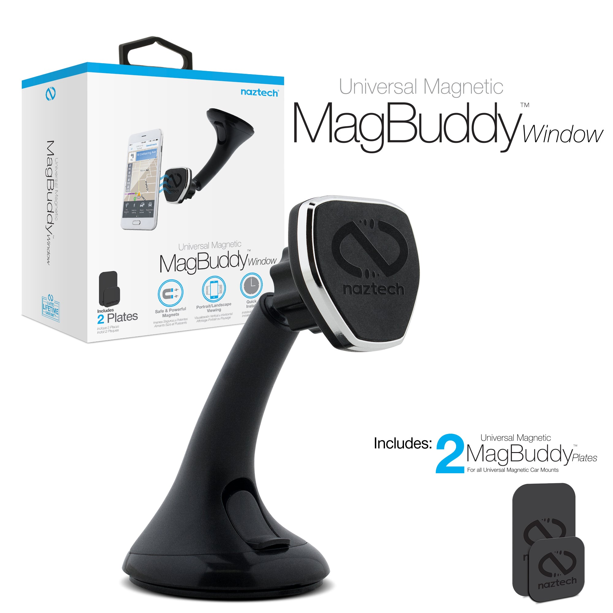 MagBuddy Windshield